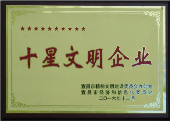 宜昌市十星文明企业