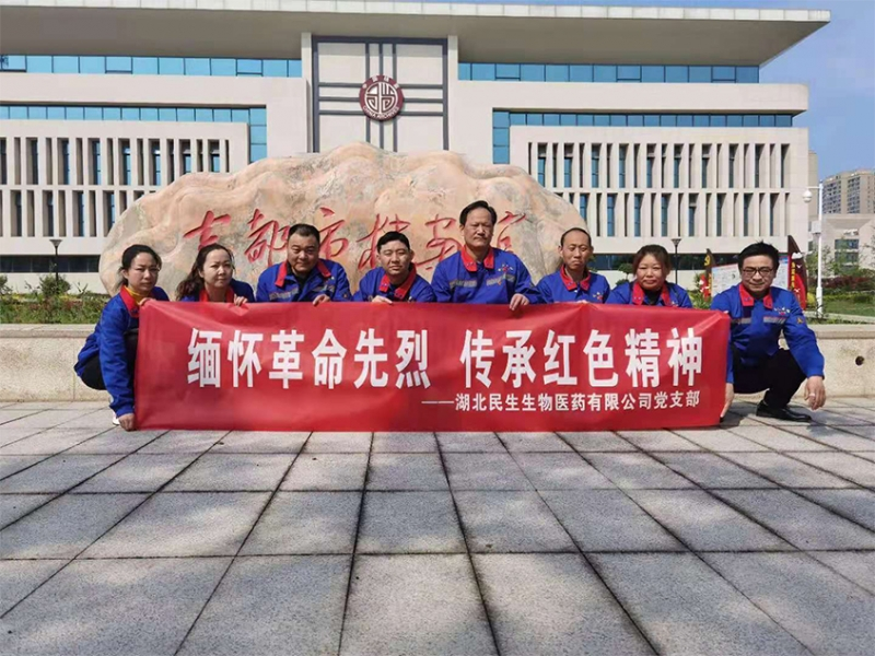公司支部开展革命传统教育